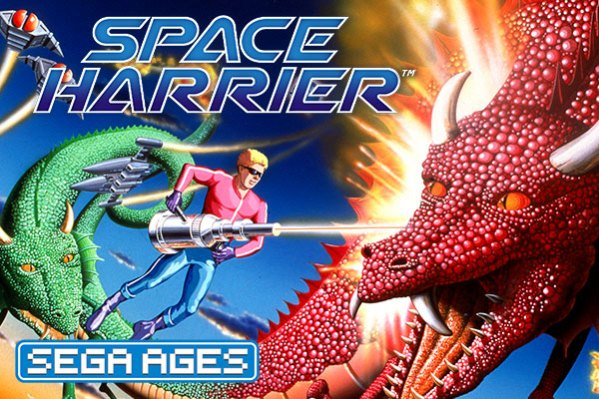 SEGA AGES Space Harrier (Switch) Review space harrier 600x400