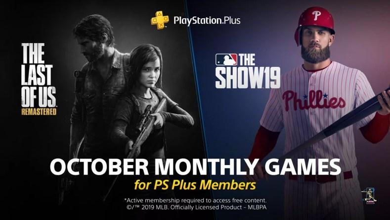 october ps+ free games celebrates baseball and mushroom zombies October PS+ free games celebrates baseball and mushroom zombies PS Oct 2019 free