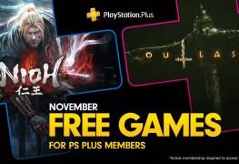 ps+ november 2019 free games announced PS+ November 2019 Free Games announced PS Nov 2019