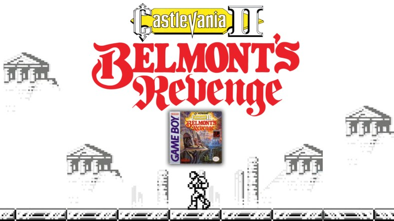 Castlevania II Belmonts Revenge title card