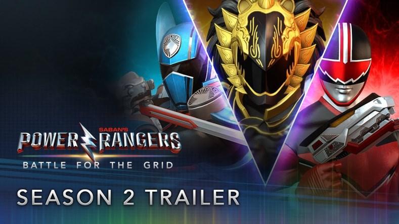 Power Rangers Battle for the Grid S2
