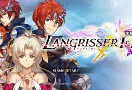 Langrisser I II PS4 banner