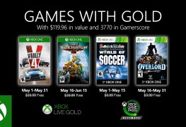 Xbox games with Gold May 2020