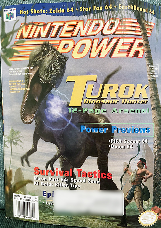 Nin Power Issue 94 cover