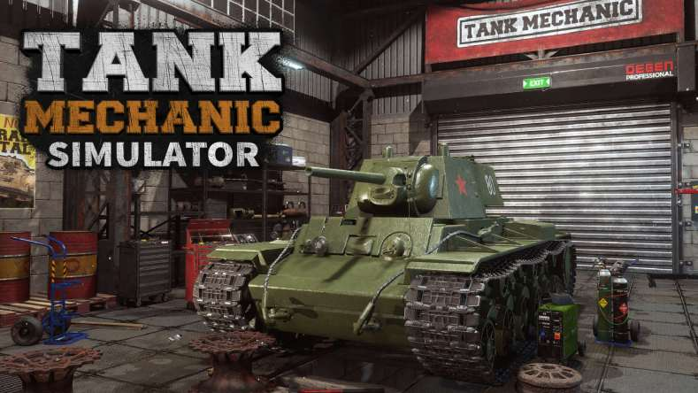 Tank Mechanic Simulator 01 press material