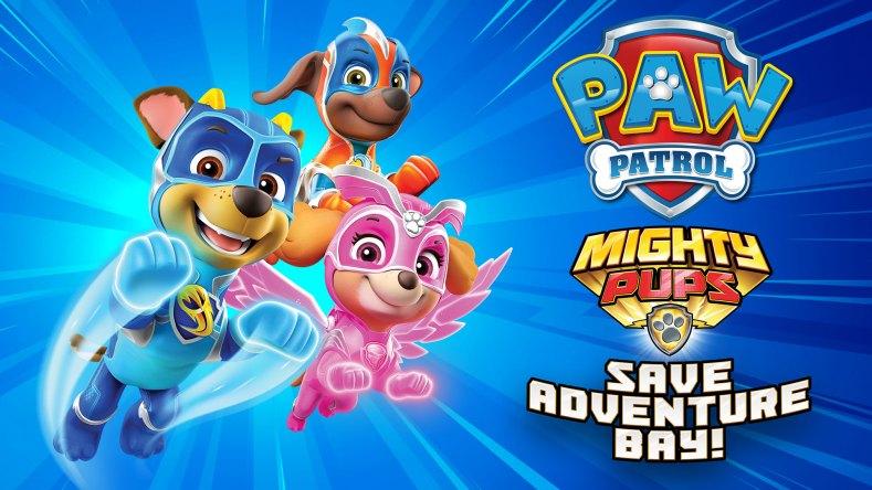 paw patrol mighty pups save adventure bay switch hero