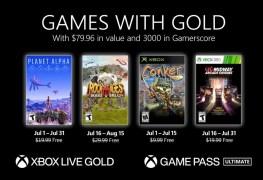 Xbox free Gold July 2021