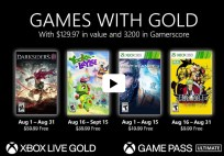 Xbox games with gold Aug 2021