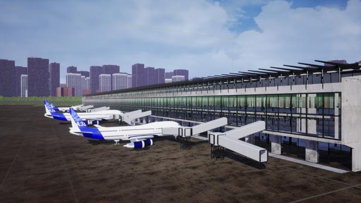 Airport Renovator 1