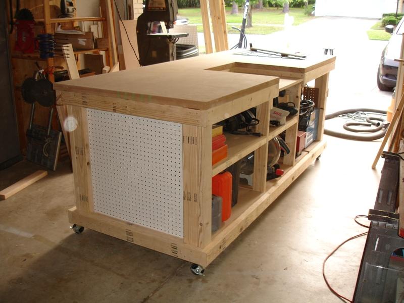 My Garage Workshop Ultimate Workbench