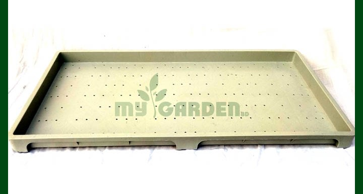 Seedling Tray Bottom - White
