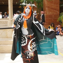 Midna from Legend of Zelda: Twilight Princess at A-Kon 27