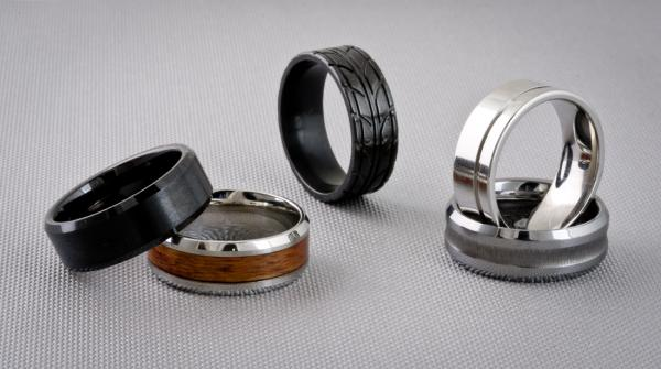 Alternative Metals For Mens Jewelry Titanium Tungsten