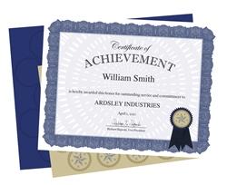 Standard Certificates & Diplomas