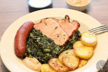 Kale plate