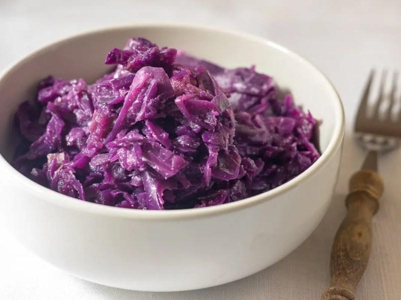 Braised Red Cabbage ('Blaukraut')