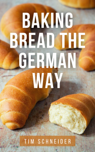 Book cover: Baking bread the German way