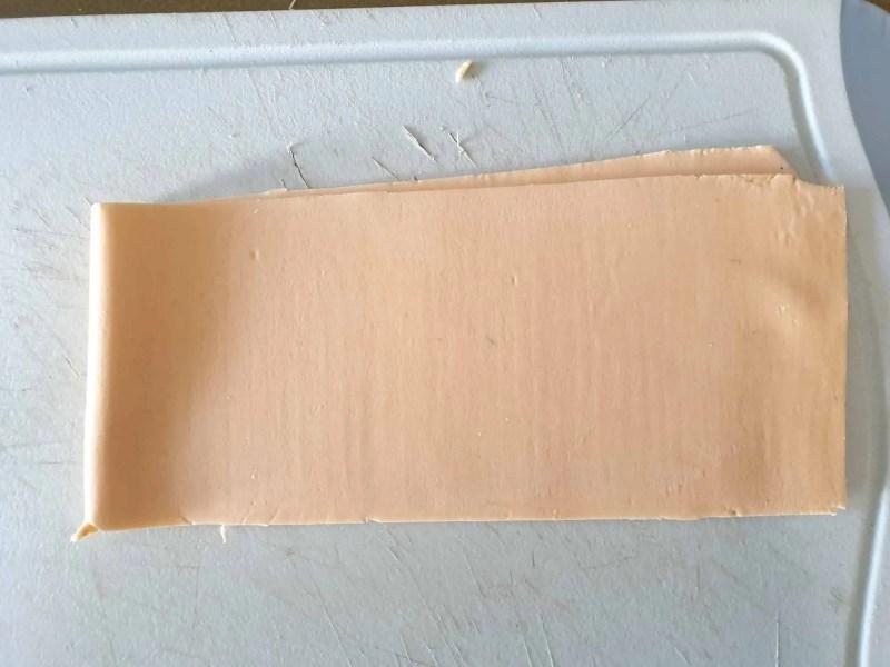 Smooth dough sheet after sheeting