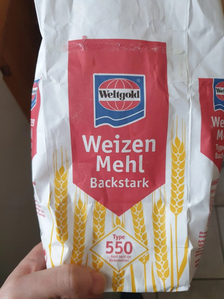 Strong flour from a Germany with a protein contetn of 12 %.