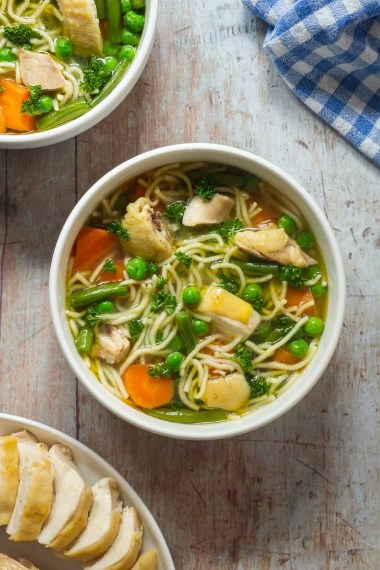 German Chicken Noodle Soup