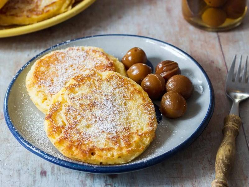 Liwanzen / Yeast Panckes / Dalken