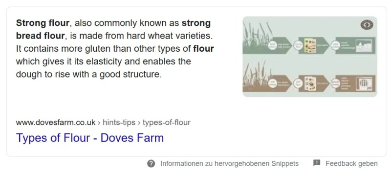 what is strong flour google search result
