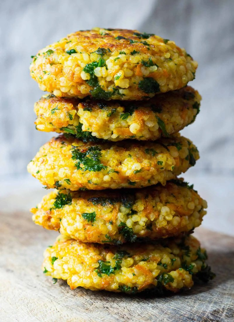 Millet Fritters (Hirseküchle)