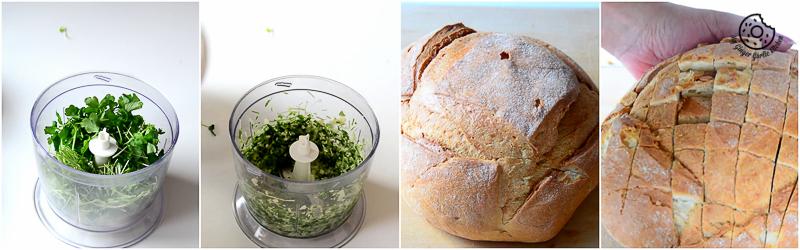 recipes-Pull-Apart-Garlic-Parsley-Bread mygingergarlickitchen.com/ @anupama_dreams