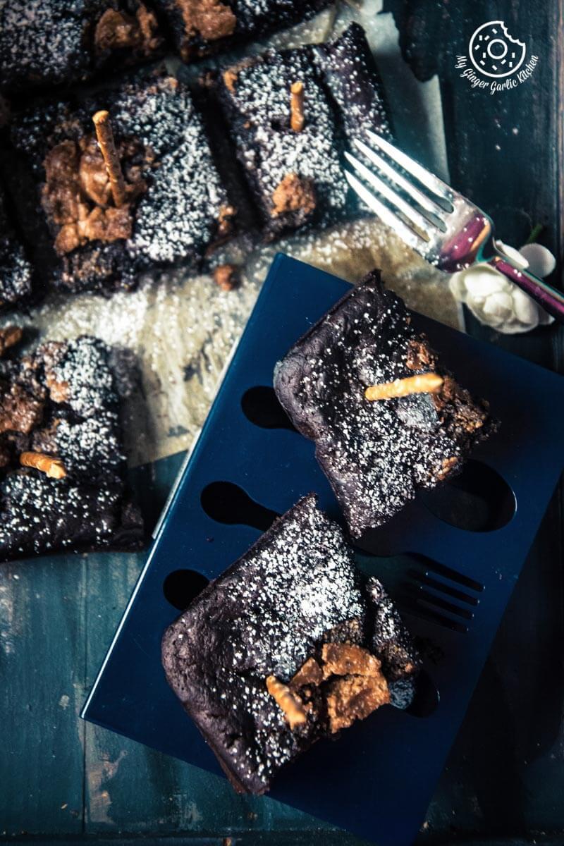recipes-Eggless-Banana-Peanut-Butter-Chocolate-Brownies-anupama-paliwal-my-ginger-garlic-kitchen-8