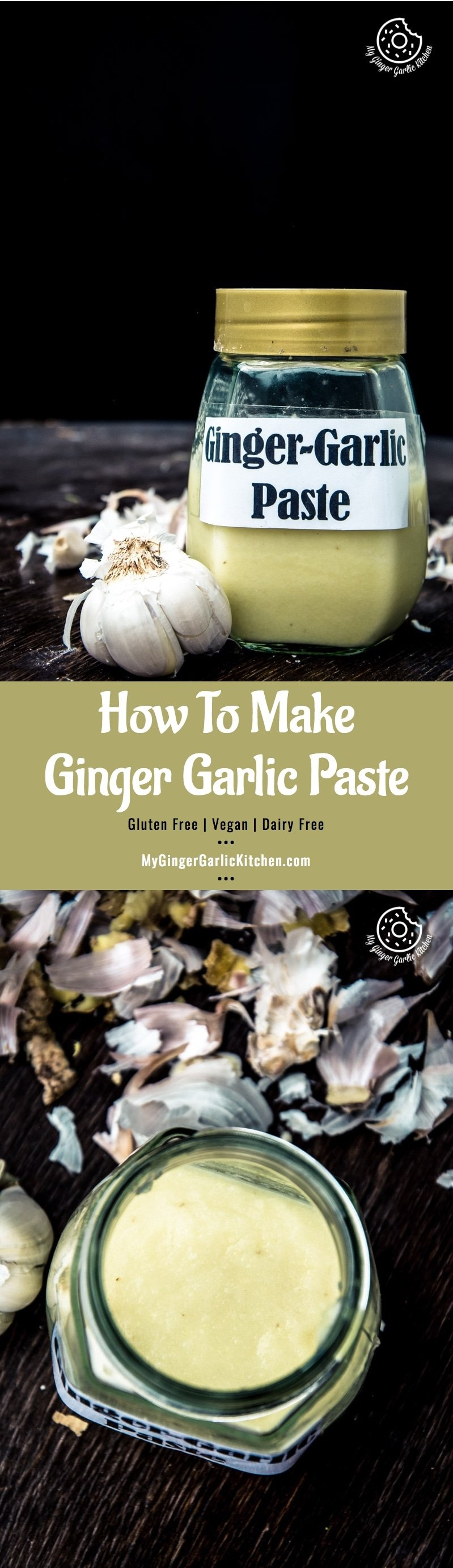 Recipe How to Make Ginger Garlic Paste   mygingergarlickitchen.com/ @anupama_dreams