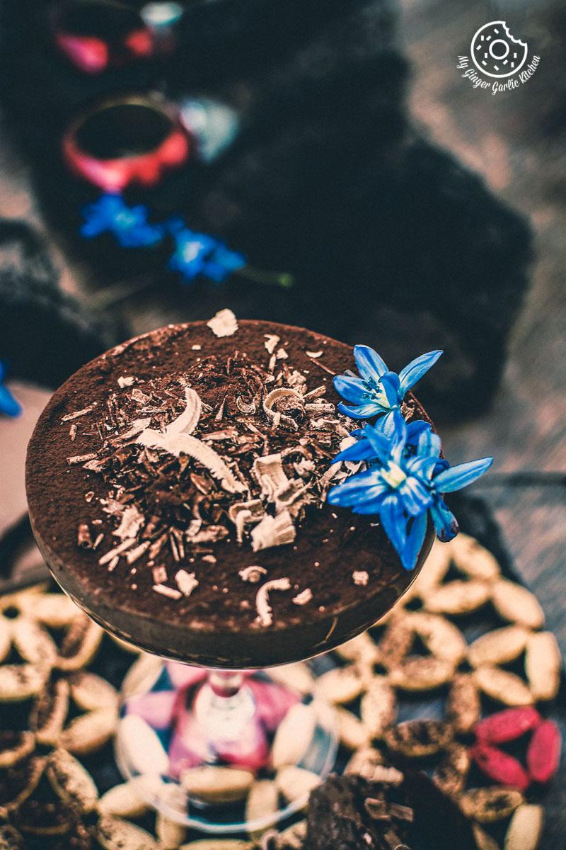 Vegan Chocolate Mousse With Aquafaba   mygingergarlickitchen.com/ @anupama_dreams