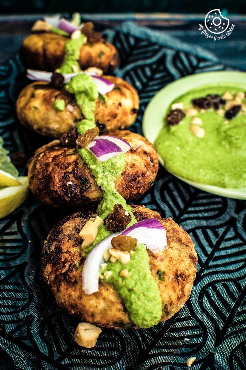 How To Make Dahi Ke Kabab | Yogurt Kebab | Dahi Kebab | mygingergarlickitchen.com/ @anupama_dreams