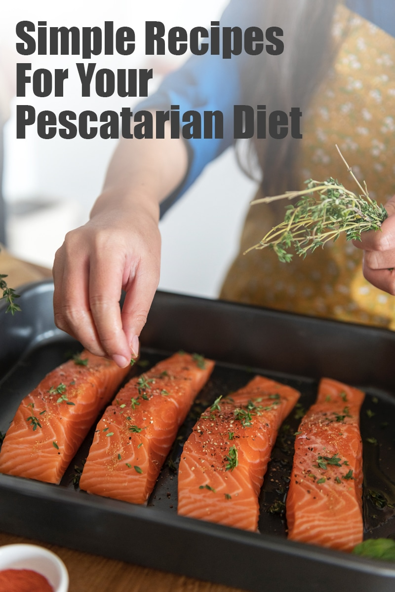 Simple Recipes For Your Pescatarian Diet | mygingergarlickitchen.com/ @anupama_dreams