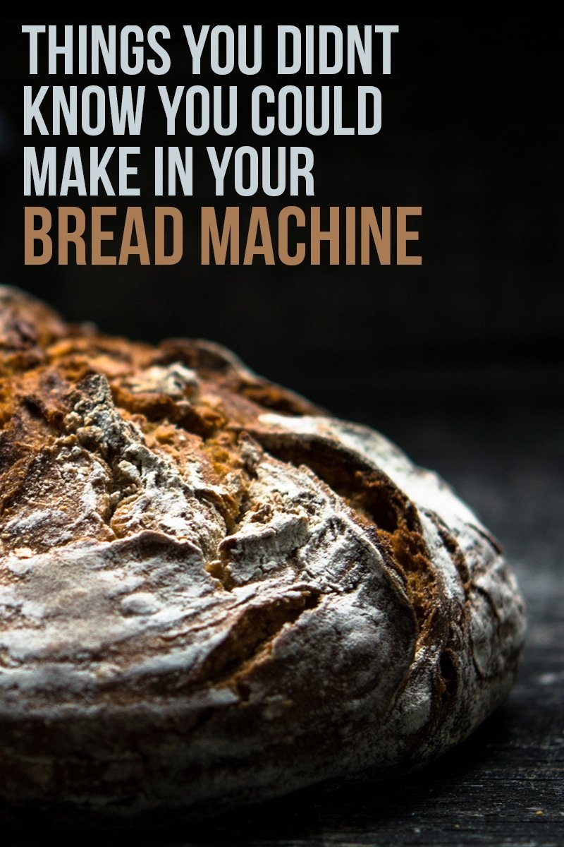 Things You Didn't Know You Can Do With Your Bread Machine | mygingergarlickitchen.com/ @anupama_dreams