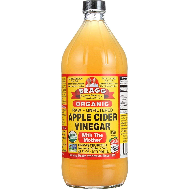 Organic Raw Unfiltered Apple Cider Vinegar, 32 fl oz (946