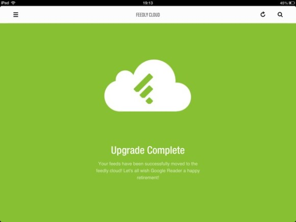 Feedly google reader sync