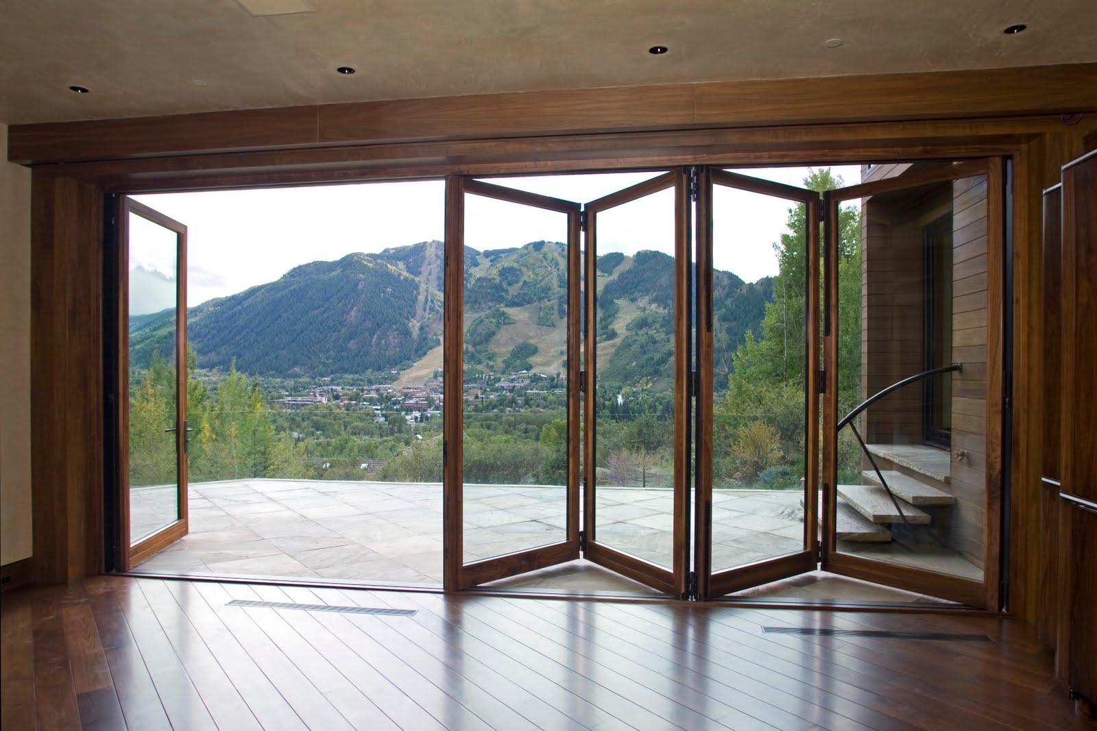 exterior folding glass doors product