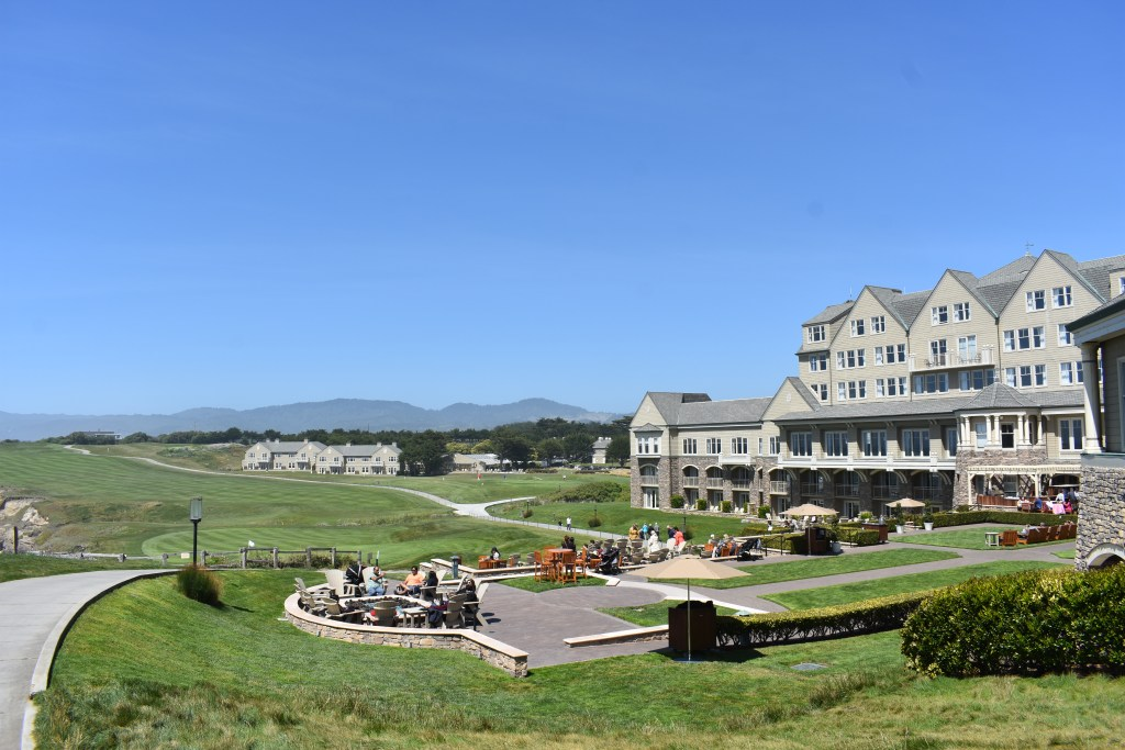 Ritz Carlton HMB with a view of golf course and ocean-view terrace