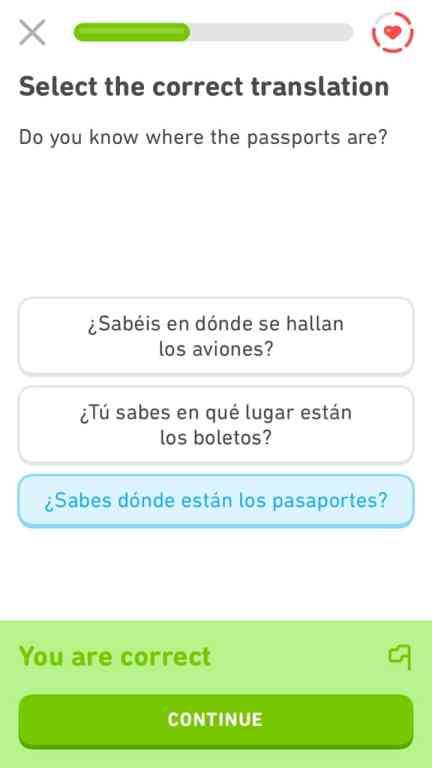 Duolingo is my favorite language-learning app