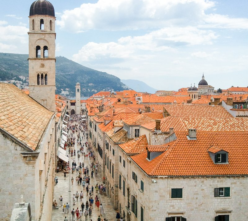 Dubrovnik is a beautiful city in Europe