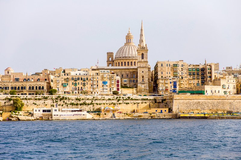 Valletta is a compact city in the heart of Malta.