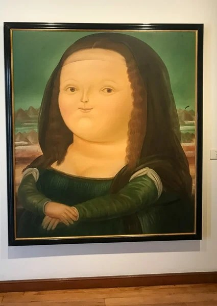 The Botero Museum is one of the top things to do in Bogotá, Colombia