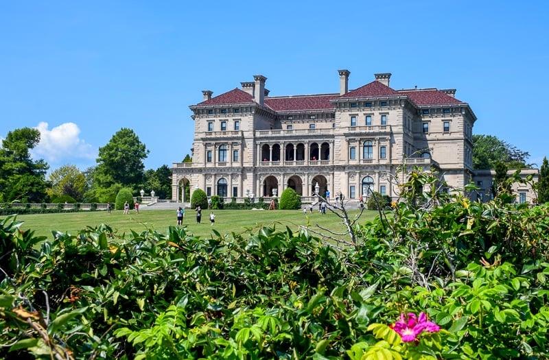 The Breakers in Newport, Rhode Island, one of the best weekend getaways in New England