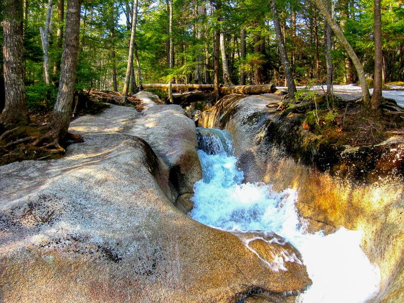 Breathtaking scenery is abundant along the Kancamagus Highway, one of the best weekend getaways in New England.