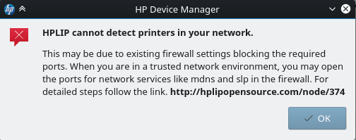 Setting up a wireless HP printer on GNU/Linux