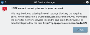 wireless configuration of hp-setup fails