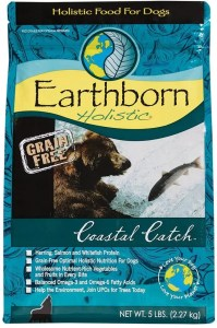 17 Best Dog Foods for Golden Retrievers & Puppies. Earthborn Holistic Coastal Catch Grain-Free Natural.