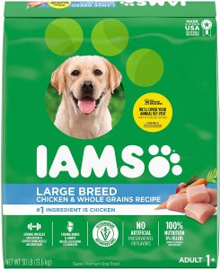 17 Best Dog Foods for Golden Retrievers Adults & Puppies. IAMS Proactive Health Large Breed.