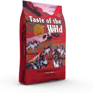 17 Best Dog Foods for Golden Retrievers & Puppies. Taste of the Wild Southwest Canyon.