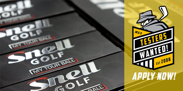 Post image for (10) Golfers Wanted: Test Snell Golf Balls